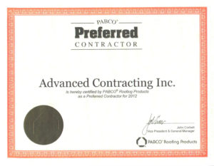 advanced-roofing certifications