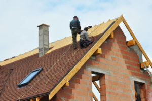 Getting a new roof installed to increase the value of the home
