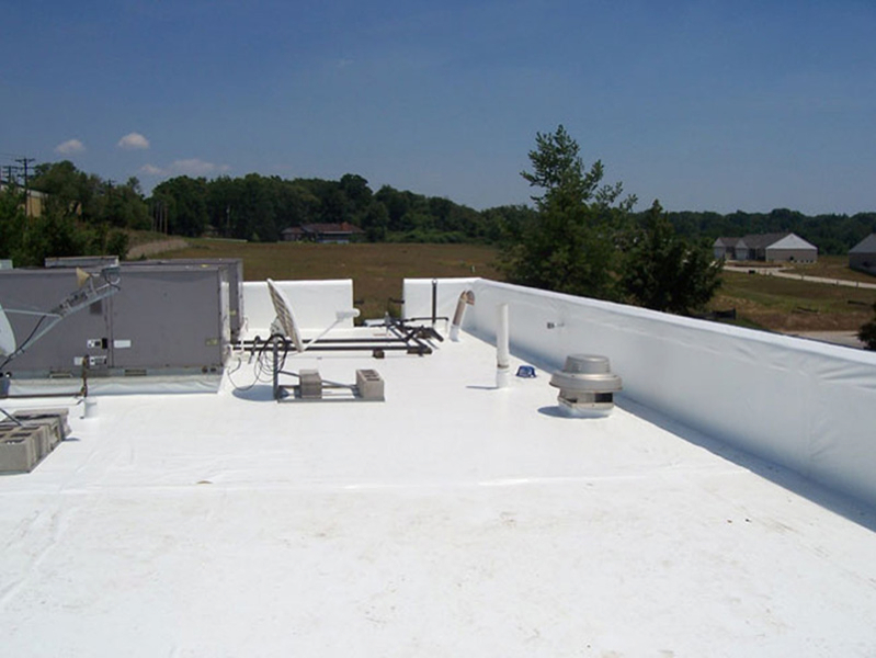 Tpo Roofing Installation : Flat roofs advanced roofing vancouver wa portland or